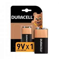 DURACELL 9 Volt Alkalin Pil...